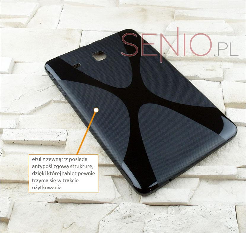 Silikonowe plecki dedykowane do wybranego modelu Samsung Galaxy Tab E 9.6 (T560)