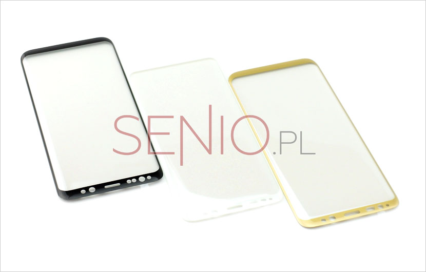 solidne szkła 3D na telefony dotykowe Samsung Galaxy S8