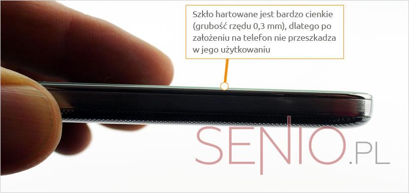 Grubość szkła do telefonu ZTE S6