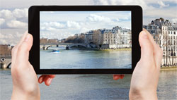 Robienie zdjęcia tabletem