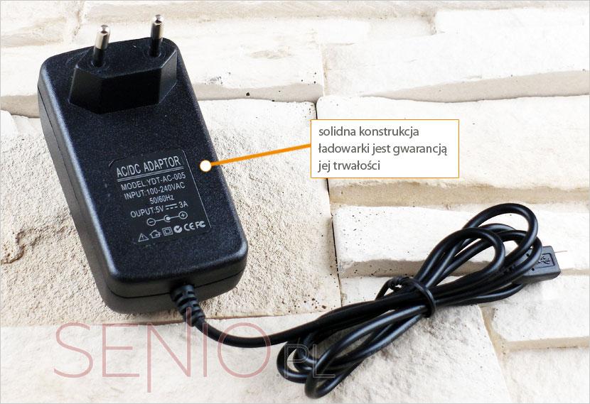 ładowarka sieciowa do tabletu z micro USB