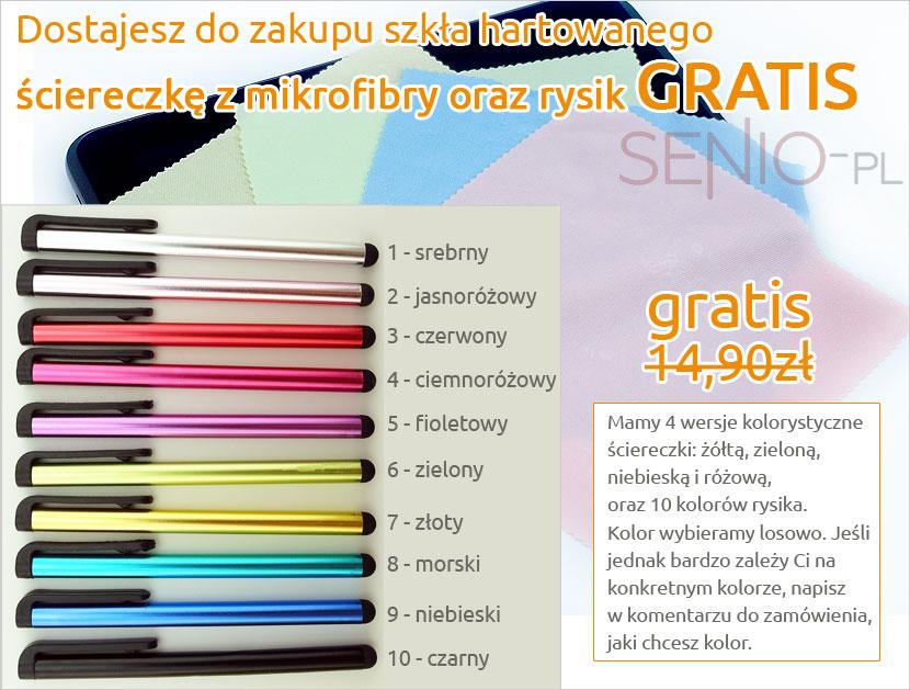 Gratisy, prezenty do zamówienia Meizu Noblue A5