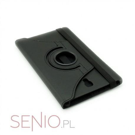 edykowane etui do tabletu Samsung Galaxy Tab S 8.4 (T700) – czarne, obrotowe, dopasowane