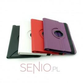 Dedykowane etui do tabletu Samsung Galaxy Tab 2 10.1 (P5100) – czerwone, białe, czarne lub fioletowe, dopasowane, obrotowe