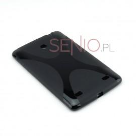 Dedykowane, silikonowe etui (plecki) do tabletu LG G Pad (V400) 7.0 – czarne, dopasowane