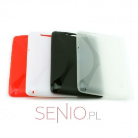 Dedykowane, silikonowe etui (plecki) do tabletu Nexus 7 – czarne, dopasowane