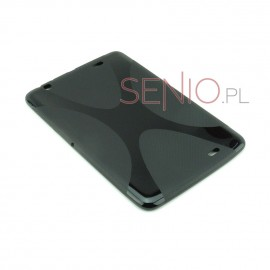 Dedykowane, silikonowe etui (plecki) do tabletu LG G Pad (V700) 10.1 – czarne, dopasowane