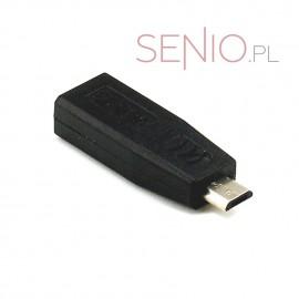 Adapter mini-USB do micro-USB – przejściówka prądowa do ładowarki