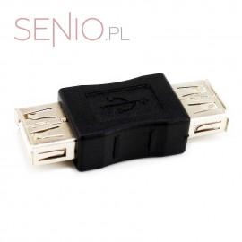 Łącznik-adapter USB: żeńsko – żeński, A-A