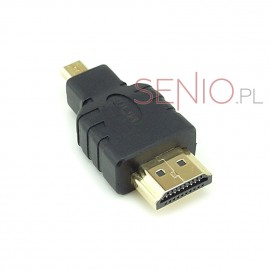 Przejście: wtyk HDMI - wtyk micro HDMI do tabletu
