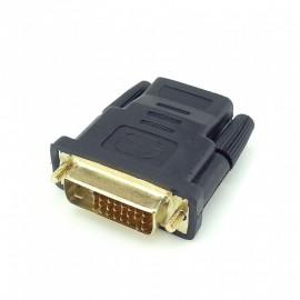Adapter: żeński HDMI - męski DVI