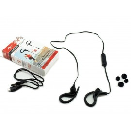 Douszne słuchawki bezprzewodowe bluetooth z mikrofonem