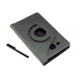 Etui na tablet Samsung Galaxy Tab A 7.0 T280 T285 - czarne, obrotowe, dopasowane