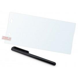 Szkło hartowane na telefon Sony Xperia Z4 (tempered glass) + GRATISY