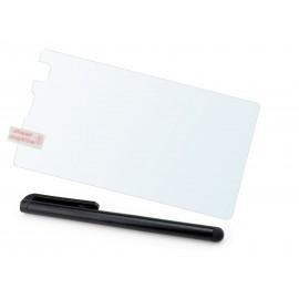Szkło hartowane na telefon Microsoft Lumia 435 (tempered glass) + GRATISY