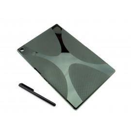 Czarne silikonowe etui do tabletu Sony Xperia Z2 (P511/P512)