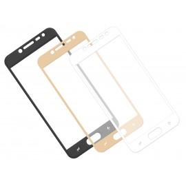 Zaokrąglone szkło hartowane 3D do telefonu Samsung Galaxy J2 pro 2018 SM-J250N, curved, tempered glass, 9 H