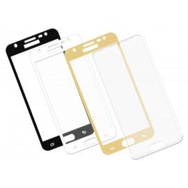 Zaokrąglone szkło hartowane 3D do telefonu Samsung Galaxy J3 pro 2017 DUAL SIM SM-J330 - 9 H, dobra cena, tempered glass