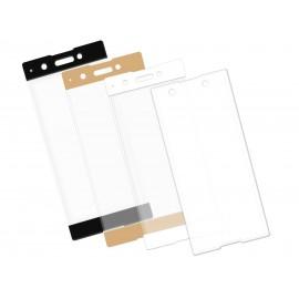 Zaokrąglone szkło hartowane 3D do telefonu Sony Xperia XA1 Plus, na cały ekran, curved, 9H, tempered glass, dobra cena
