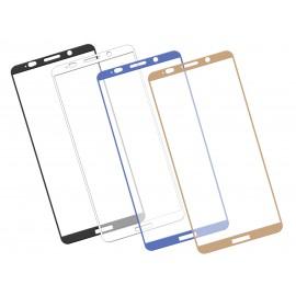 Zaokrąglone szkło hartowane 3D do telefonu Huawei Mate 10 Pro - kolory, tempered glass, w dobrej cenie