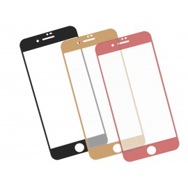 Zaokrąglone szkło hartowane 3D do telefonu Apple Apple iPhone 8 Plus (A1864, A1897), w dobrej cenie, kolory, 9H, temepered glass