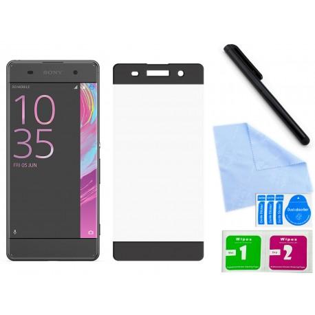 Szkło hartowane 3D do telefonu Sony Xperia XA F3111, F3113, F3115, na cały ekran, curved, 9H, tempered glass, dobra cena