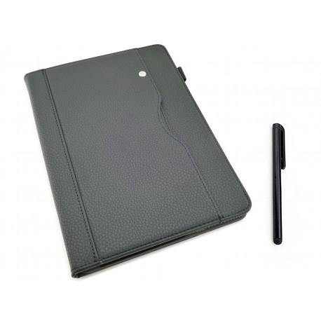 CZARNE etui zamykane (książkowe) do tabletu Lenovo TAB M10 TB-X605 10,1 cala