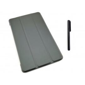 CZARNE etui zamykane (książkowe) do tabletu Lenovo TAB E7 TB-7104F 7 cali
