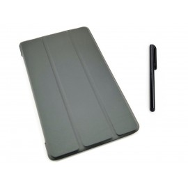 CZARNE etui zamykane (książkowe) do tabletu Lenovo Tab E8 TB-8304F, L