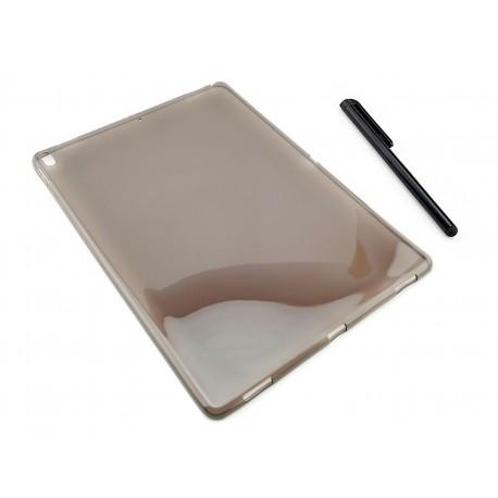GRAFITOWE elastyczne etui (plecki) do tabletu Apple iPad Pro 12,9 cala 2017 (druga generacja)