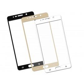 Szkło hartowane 3D do telefonu  Samsung Galaxy Note 5 N920i - kolory, w dobrej cenie, na cały ekran, curved, 9H, tempered glass