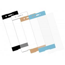 Zaokrąglone szkło hartowane 3D do telefonu Sony Xperia XA1, na cały ekran, curved, 9H, tempered glass, dobra cena