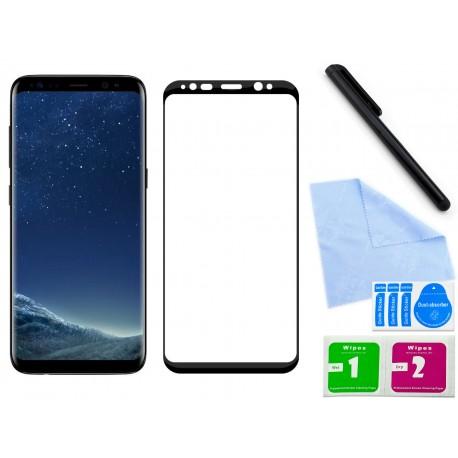 Szkło hartowane 3D do telefonu Samsung Galaxy S8 Plus, na cały ekran, w dobrej cenie, 9H
