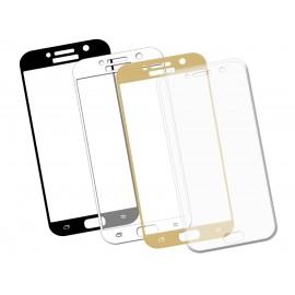 Szkło hartowane 3D do telefonu Samsung Galaxy A7 2017, różne kolory, curved, tempered glass, 9 H