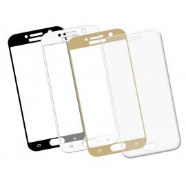 Szkło hartowane 3D do telefonu Samsung Galaxy A3 2017 - różne kolory, w dobrej cenie, 9H, curved, tempered glass