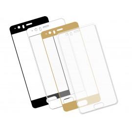 Szkło hartowane 3D do telefonu Huawei P10, na cały ekran, w dobrej cenie, 9H, curved, tempered glass