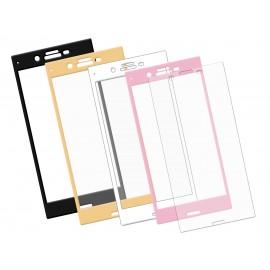 Szkło hartowane 3D do telefonu Sony Xperia XZ, na cały ekran, w dobrej cenie, 9H