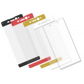 Szkło hartowane 3D do telefonu Sony XA Ultra - w dobrej cenie, na cały ekran, curved, 9H, tempered glass,