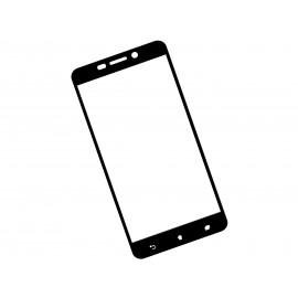 Zaokrąglone szkło hartowane 3D do telefonu Asus ZenFone 3 Laser ZC551KL - kolor CZARNY