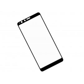 Zaokrąglone szkło hartowane 3D do telefonu ASUS ZenFone Max Plus ZB570TL - czarne szkło, tempered glass, 9H