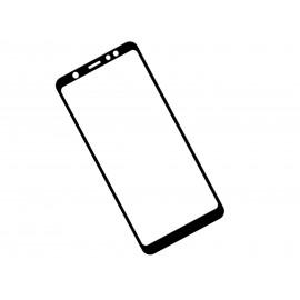 Zaokrąglone szkło hartowane 3D do telefonu Samsung Galaxy A6+ SM-A605F, SM-A605G - kolor CZARNY