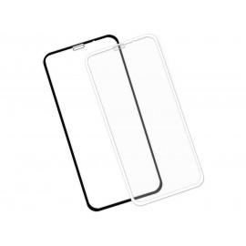 Zaokrąglone szkło hartowane 3D do telefonu Apple iPhone XR 6.1-cala - kolor CZARNY
