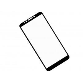 Zaokrąglone szkło hartowane 3D do telefonu HTC Desire 12/ D12 - kolor CZARNY