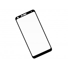 Szkło hartowane 3D do smartfonu LG Q7 Q610EM - na cały ekran, curved, 9H, tempered glass, dobra cena
