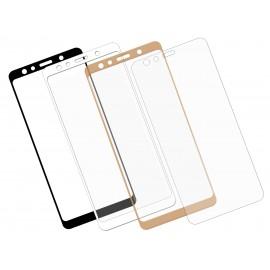 Szkło hartowane 3D do telefonu Samsung Galaxy A7 2018, różne kolory, curved, tempered glass, 9 H
