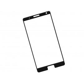 Zaokrąglone szkło hartowane 3D do telefonu Lenovo ZUK Edge Z2151 - kolor CZARNY