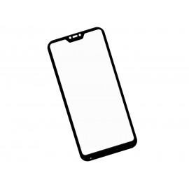 Zaokrąglone szkło hartowane 3D do telefonu Xiaomi Redmi 6 Pro - kolor CZARNY- dobra cena, 9h, tempered glass