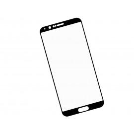 Zaokrąglone szkło hartowane 3D do telefonu Huawei Honor V10 BKL-AL00 - kolor CZARNY