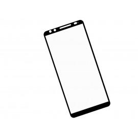 Zaokrąglone szkło hartowane 3D do telefonu HTC U12 / U12 PLUS - kolor CZARNY