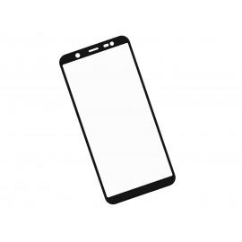 Zaokrąglone szkło hartowane 3D do telefonu Samsung Galaxy J8 2018 - kolor CZARNY